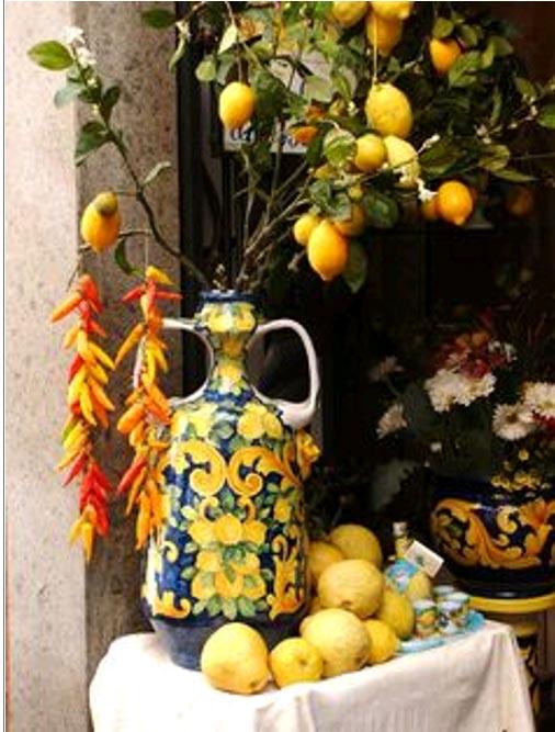 limones decoración