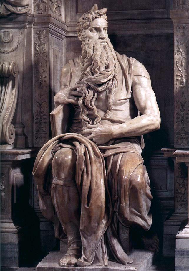 Moises tumba de Julio II