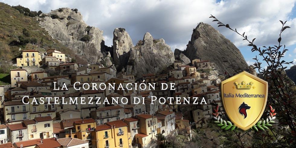 La Coronación de Castelmezzano de Potenza, Basilicata