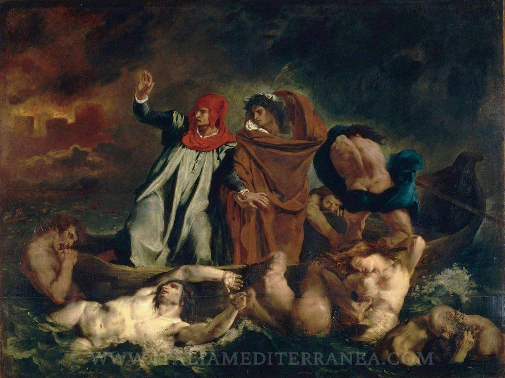 Dante en el infierno