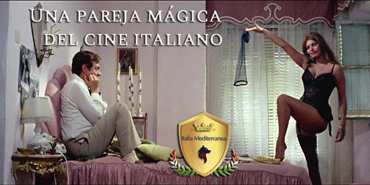 Una pareja mágica del cine italiano