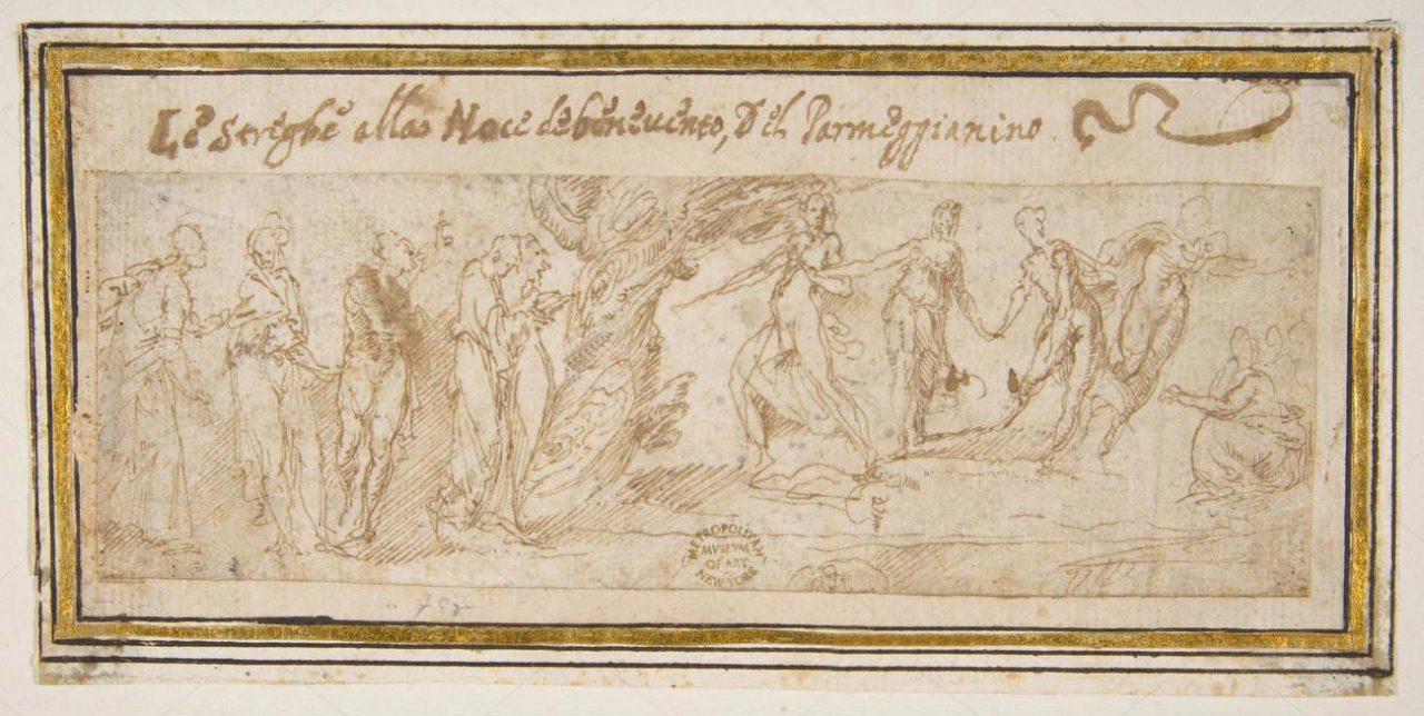 Las-brujas-en-el-nogal-de-Benevento-Guglielmo-della-Porta
