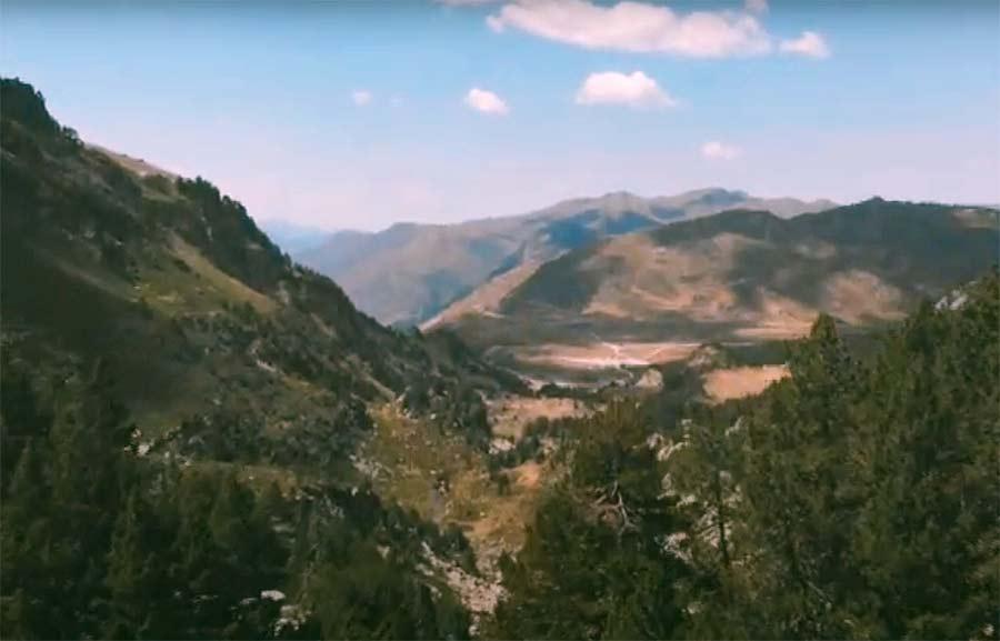 Gesualdo vista montañas