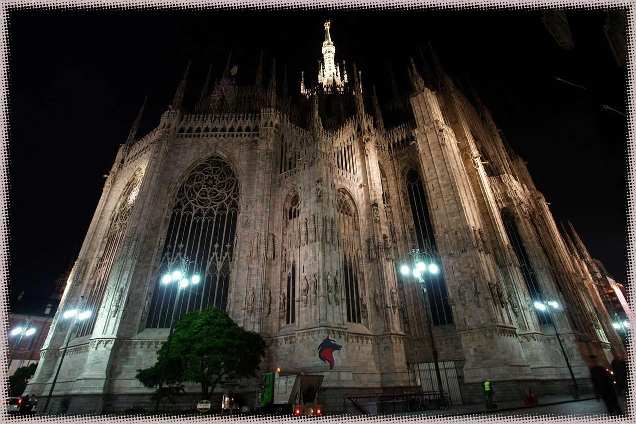 Milan nocturno