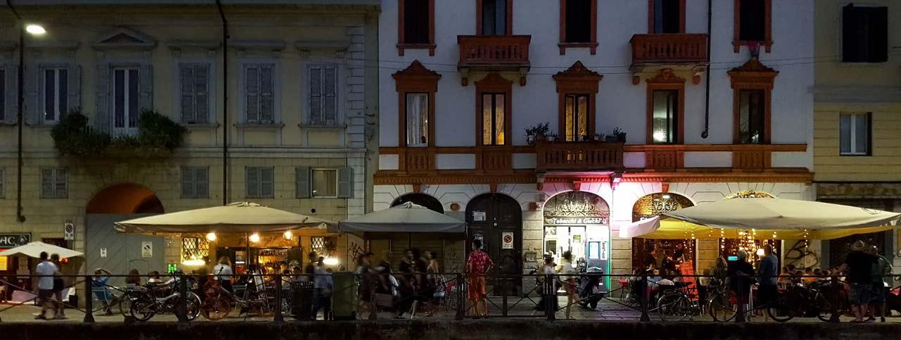 Milan-Noche